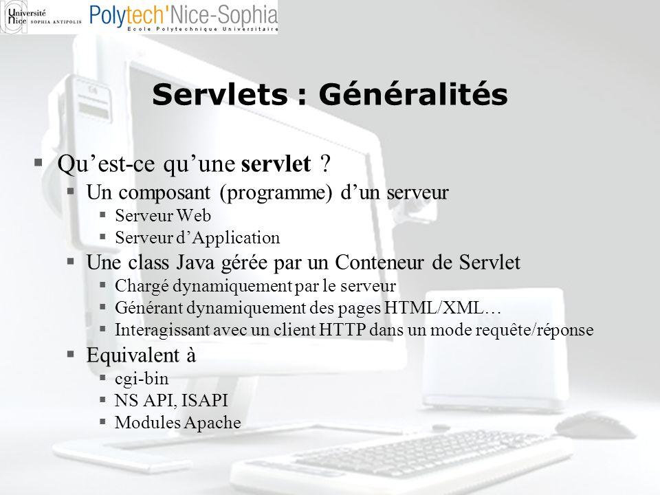 Servlets : Généralités