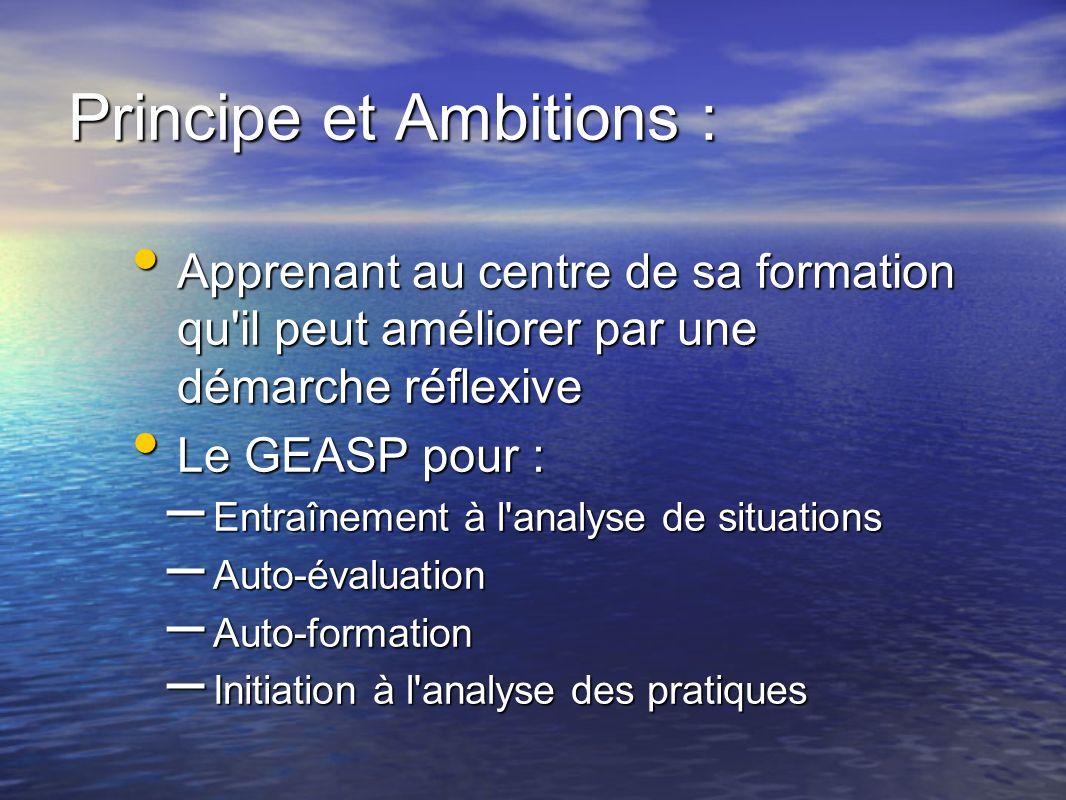 Principe et Ambitions :