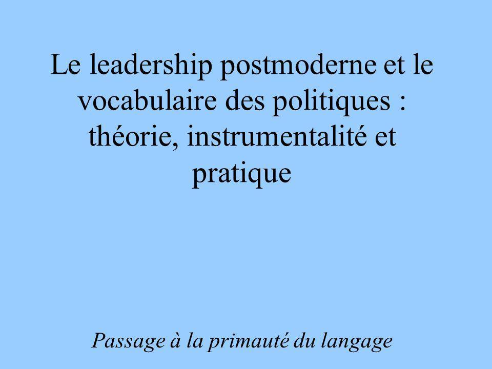Passage à la primauté du langage