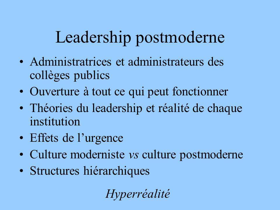 Leadership postmoderne