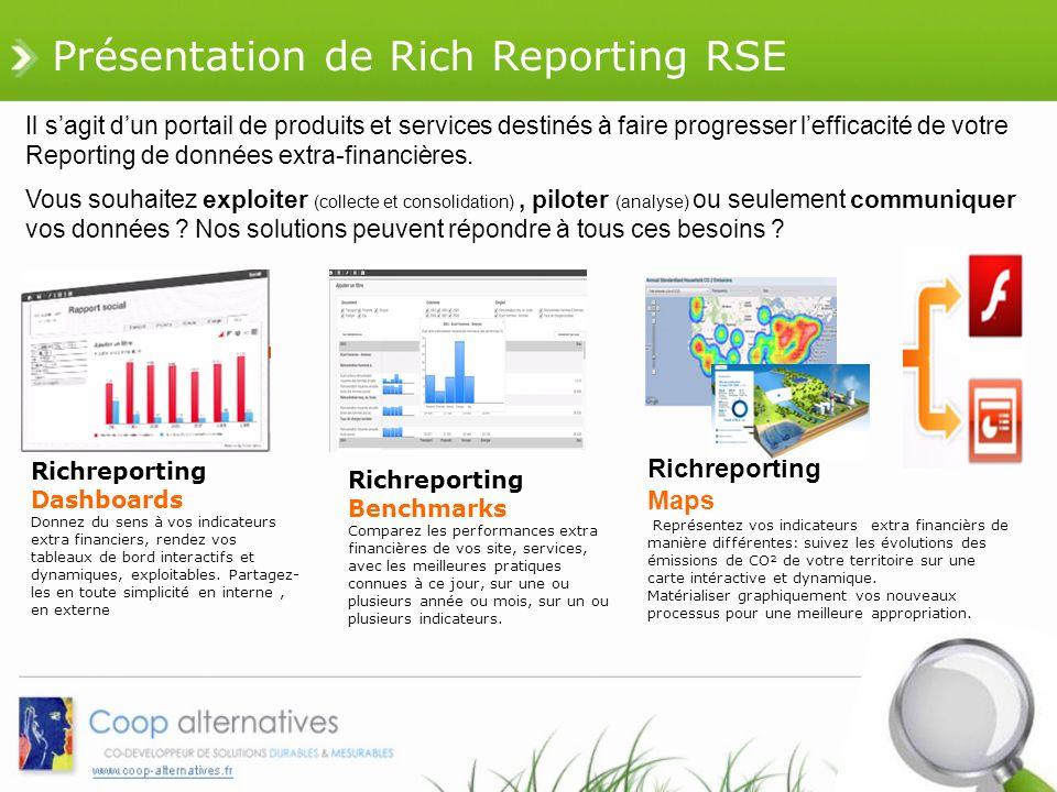 Présentation de Rich Reporting RSE