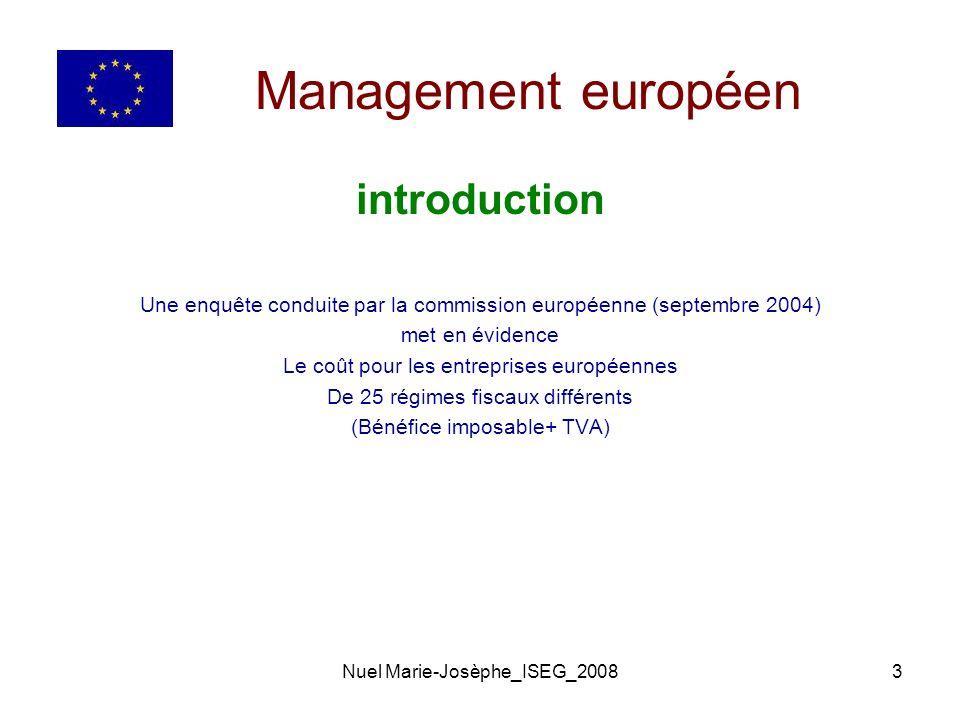 Management européen introduction