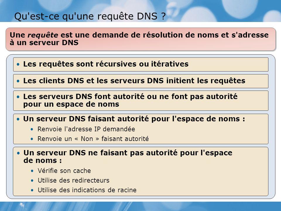 Qu est-ce qu une requête DNS