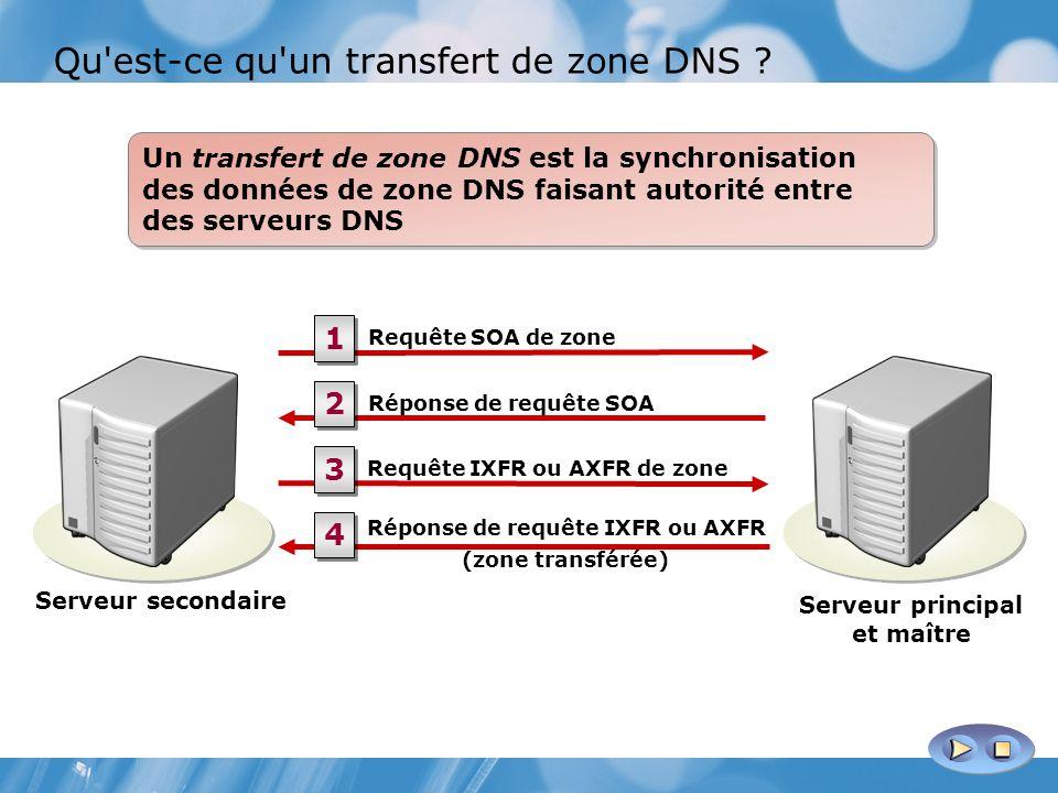 Qu est-ce qu un transfert de zone DNS