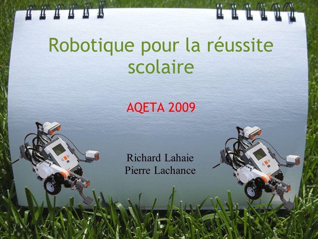 Robotique pour la réussite scolaire