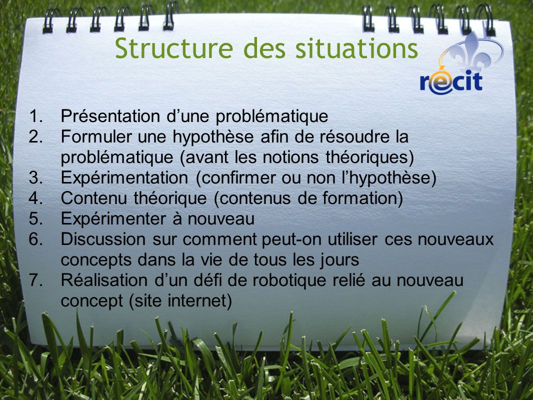Structure des situations