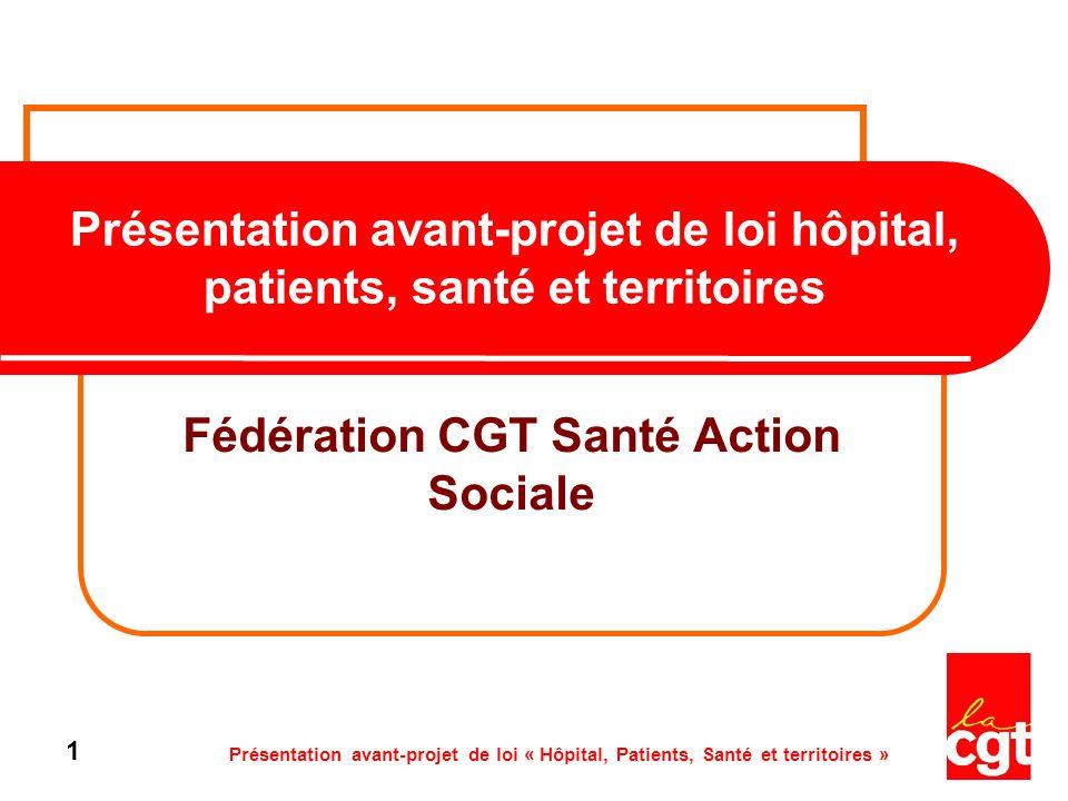 Fédération CGT Santé Action Sociale