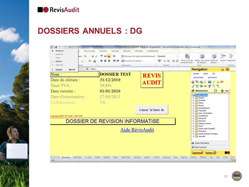 Dossiers Annuels : DG 50