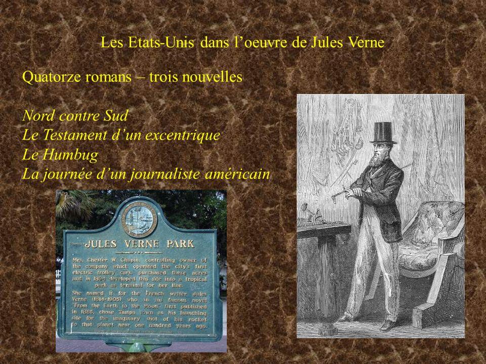 Les Etats-Unis dans l'oeuvre de Jules Verne