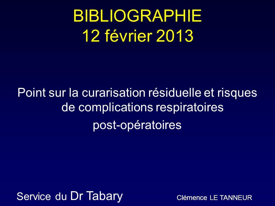 BIBLIOGRAPHIE 12 février 2013