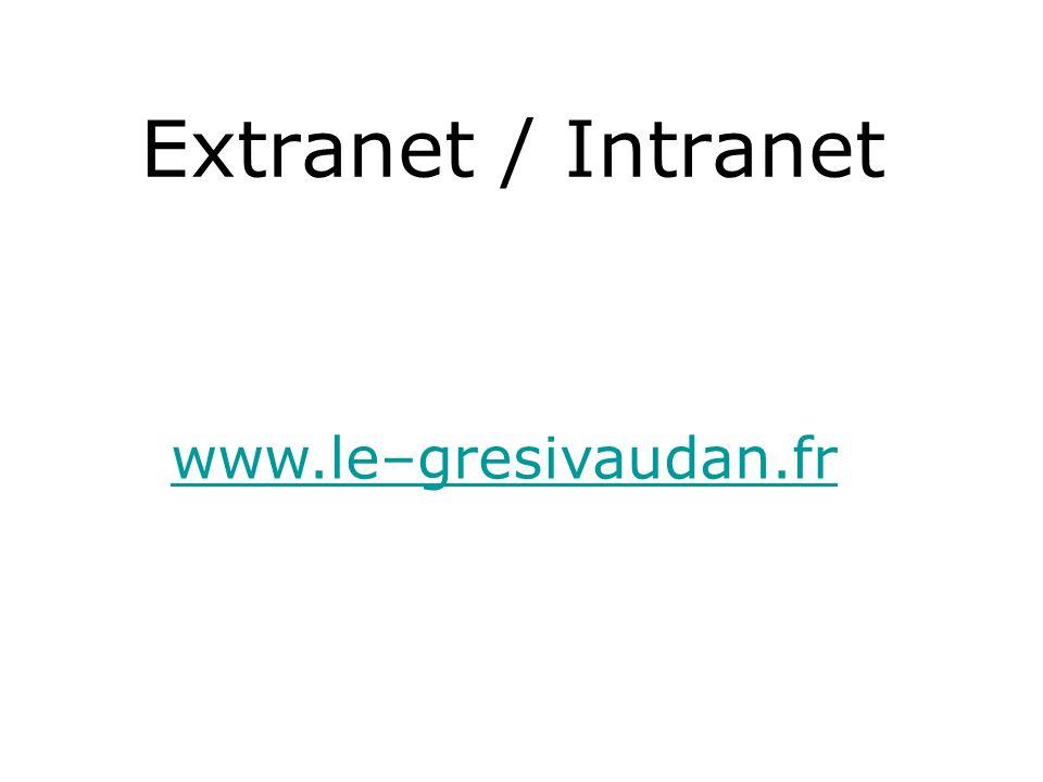 Extranet / Intranet www.le–gresivaudan.fr
