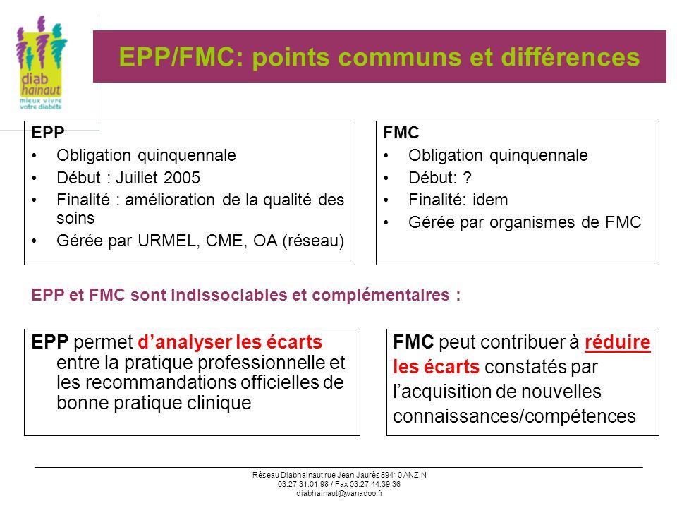 EPP/FMC: points communs et différences