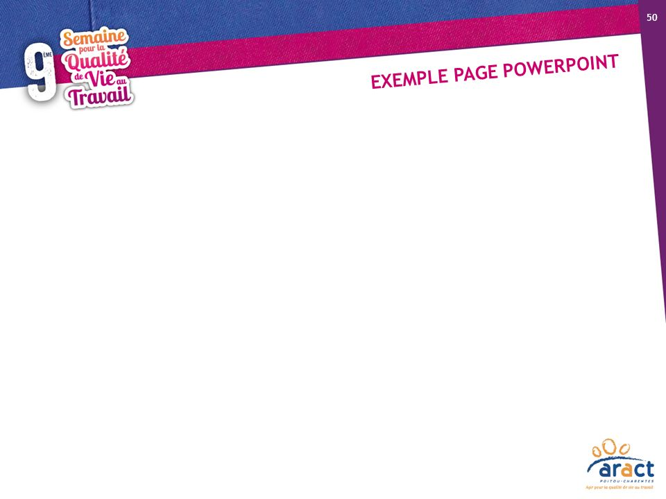 EXEMPLE PAGE POWERPOINT