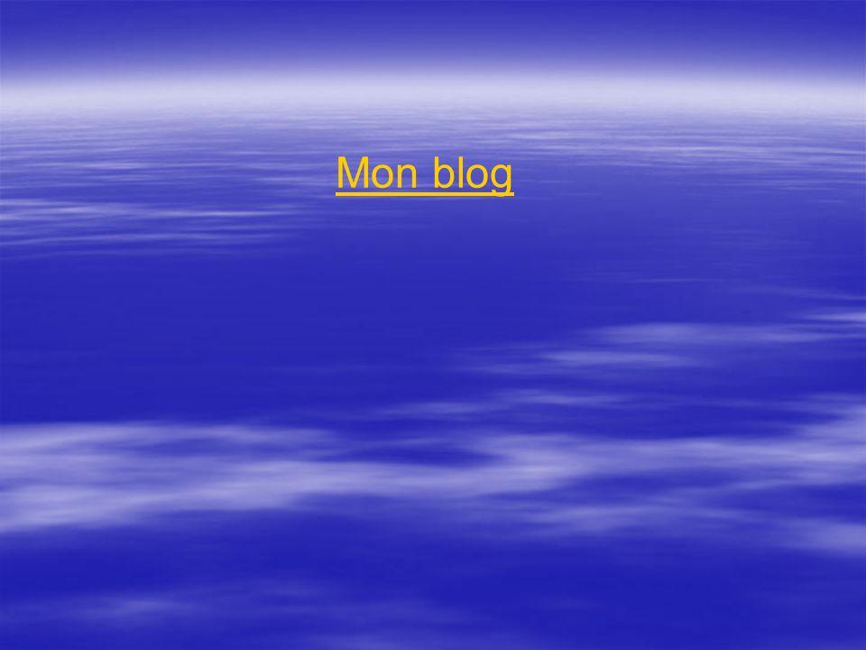 Mon blog