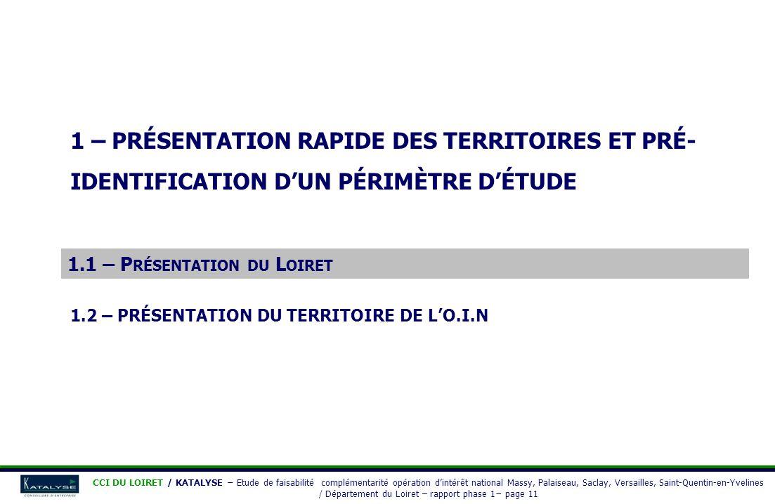 1.1 – Présentation du Loiret