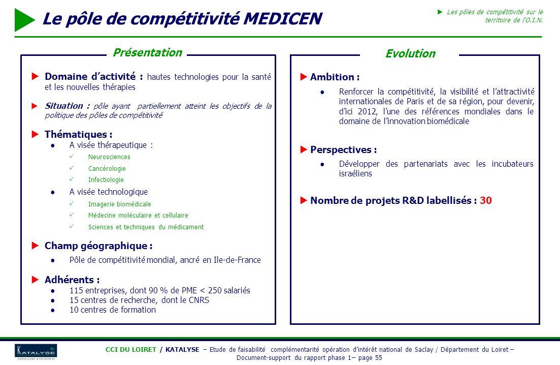 Le pôle de compétitivité MEDICEN