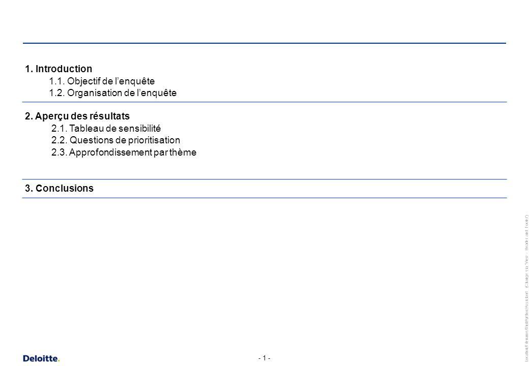 Introduction 1.1. Objectif de l'enquête