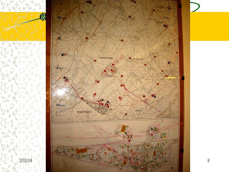 synoptique 2/02/04 A.Chouvelon SC/GS