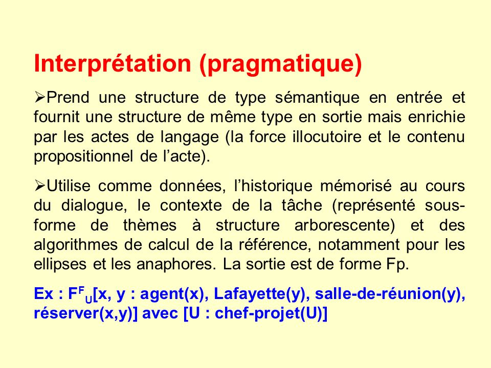 Interprétation (pragmatique)