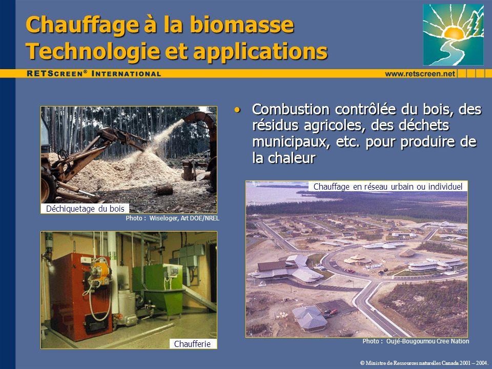 Chauffage à la biomasse Technologie et applications