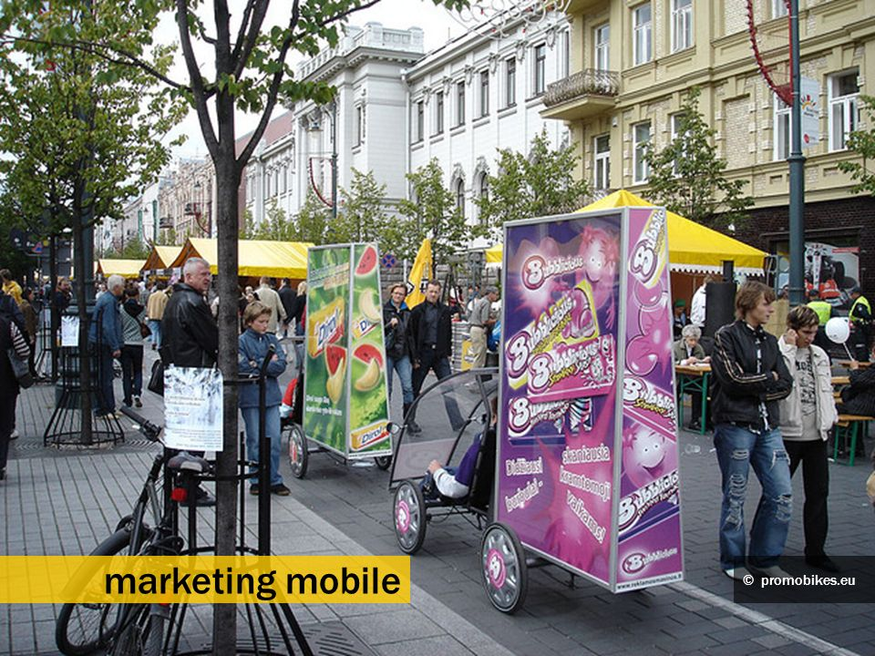 marketing mobile © promobikes.eu