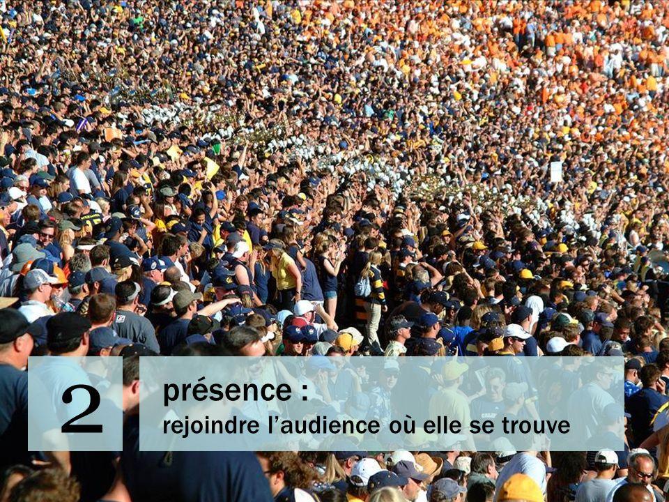 2 présence : rejoindre l'audience où elle se trouve