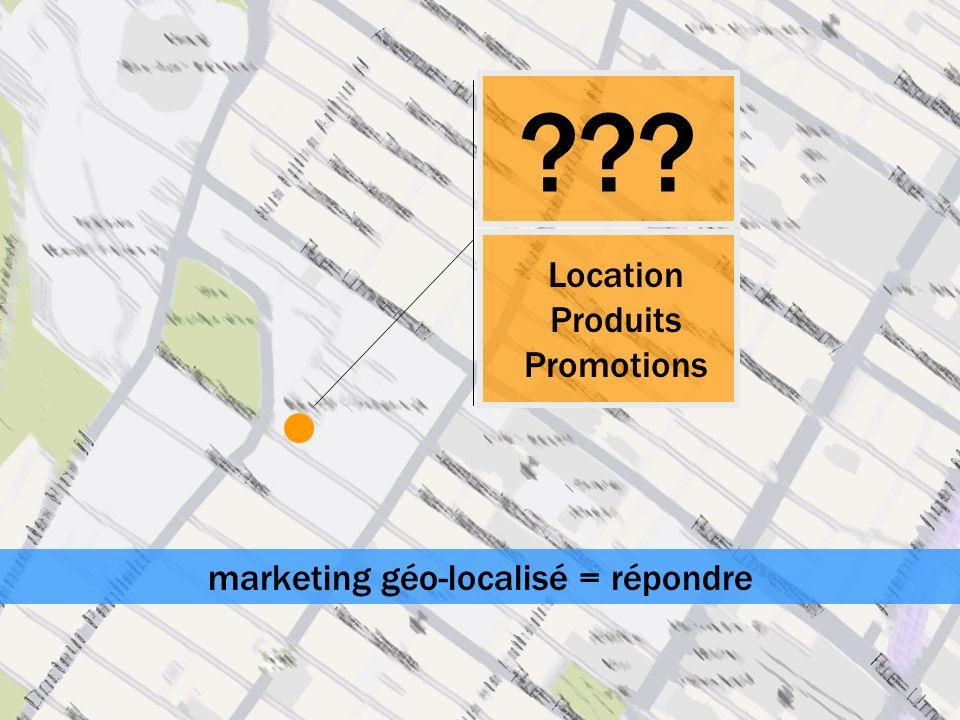 marketing géo-localisé = répondre