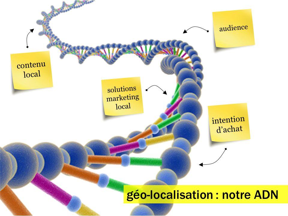 géo-localisation : notre ADN