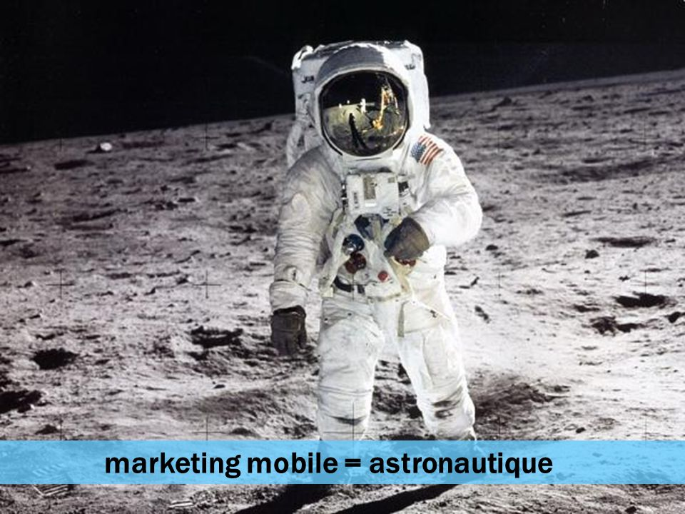 marketing mobile = astronautique