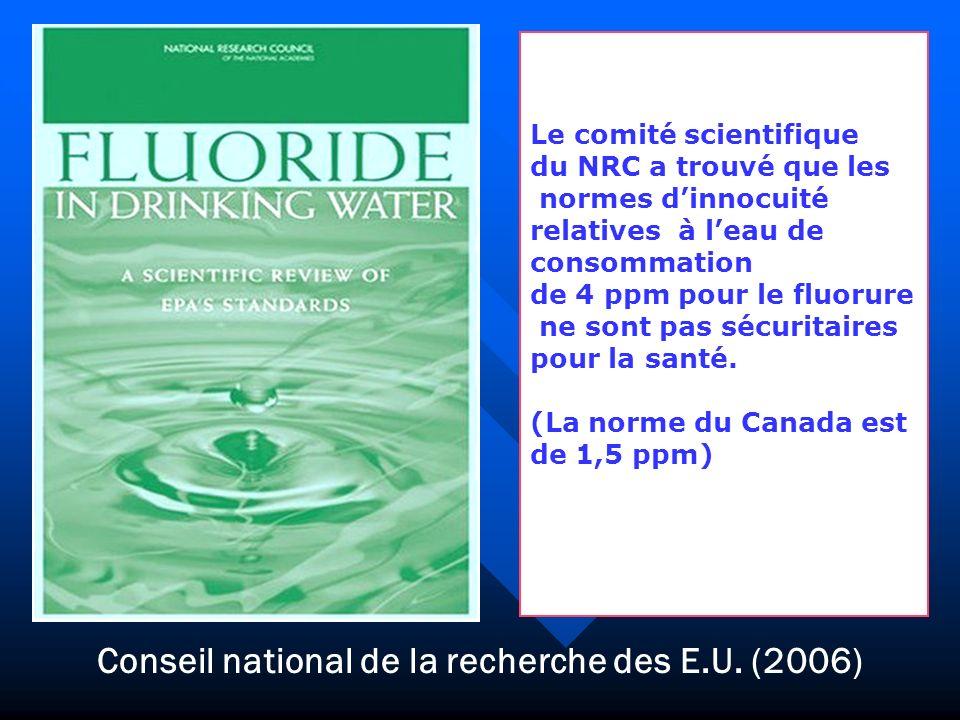 Conseil national de la recherche des E.U. (2006)