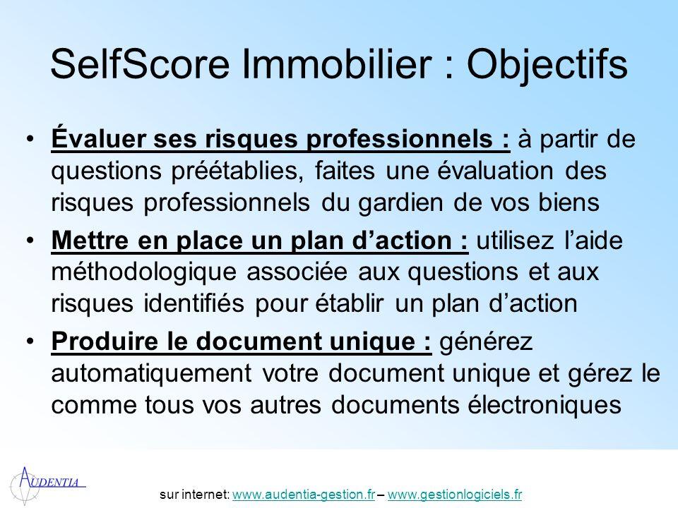SelfScore Immobilier : Objectifs