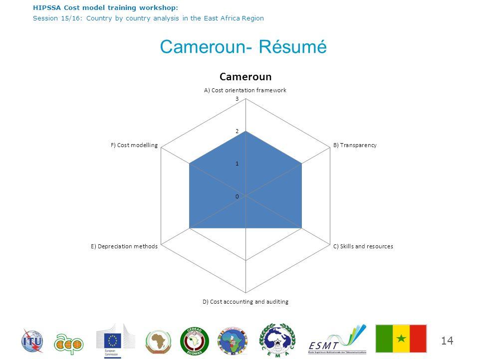 Cameroun- Résumé