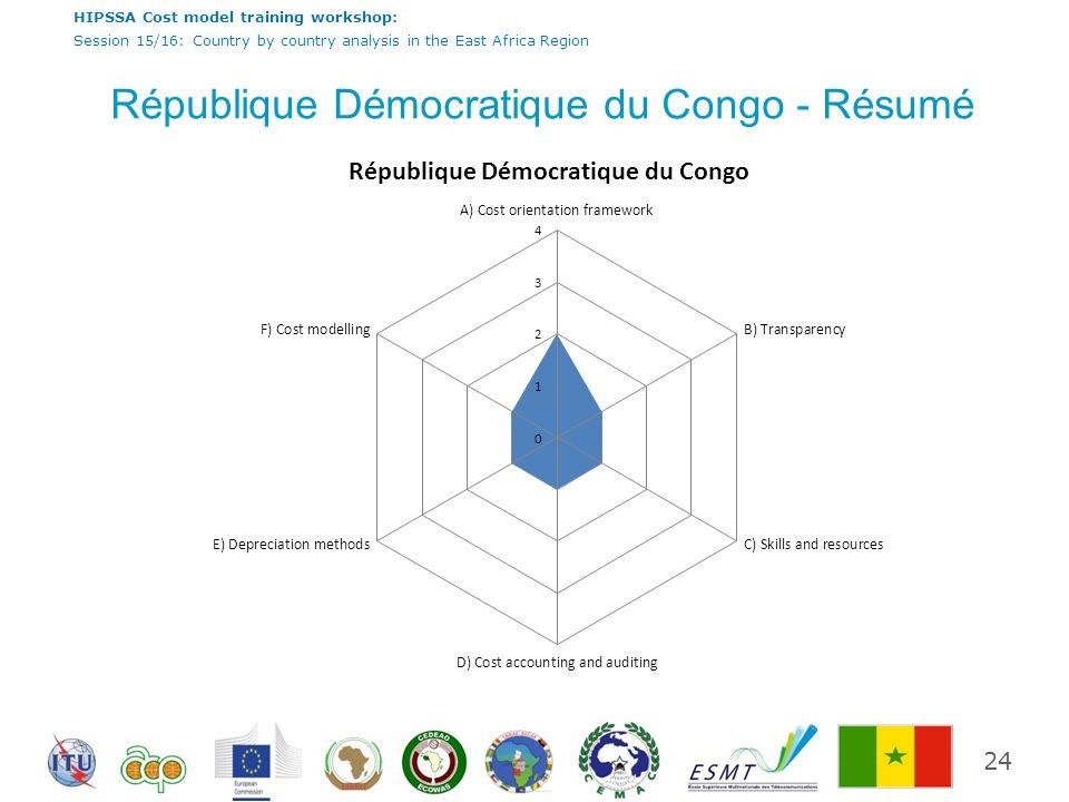 République Démocratique du Congo - Résumé