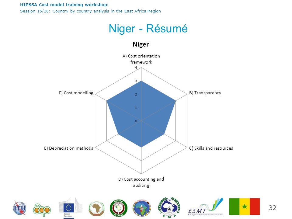 Niger - Résumé