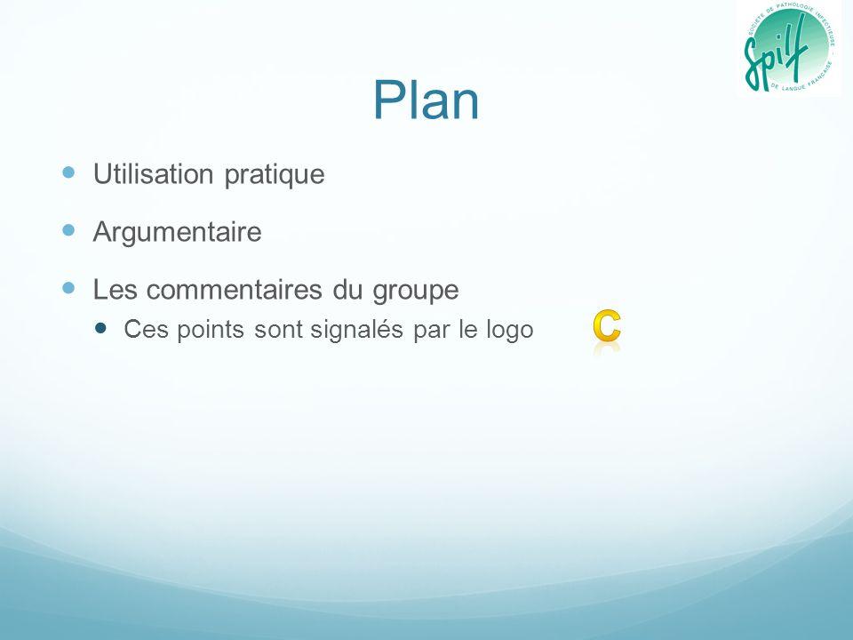 Plan C Utilisation pratique Argumentaire Les commentaires du groupe