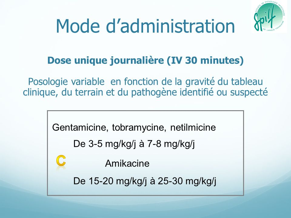 Mode d'administration