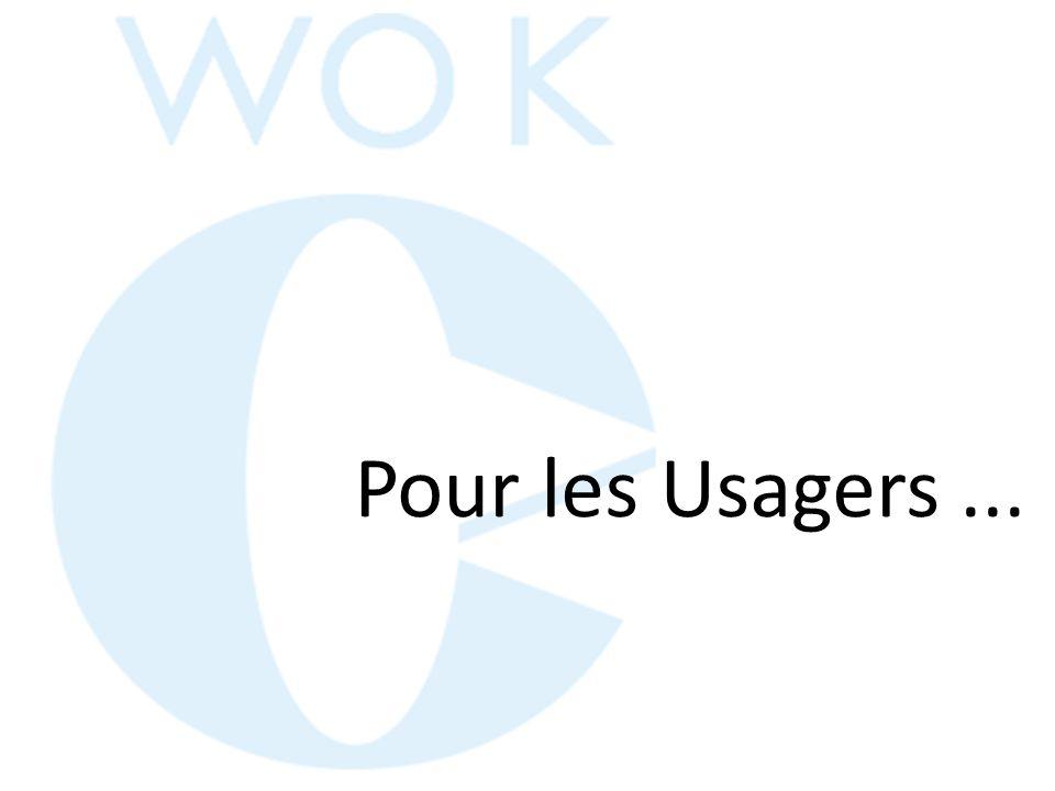 Pour les Usagers ...