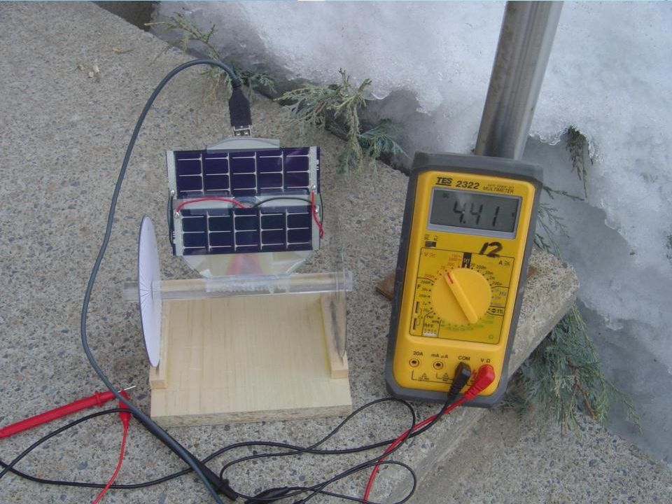 Chargeur solaire pour iPOD