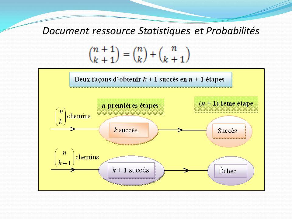 Document ressource Statistiques et Probabilités