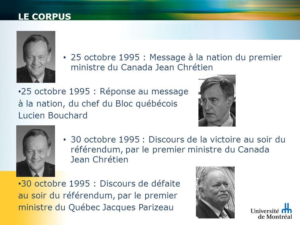 25 octobre 1995 : Réponse au message