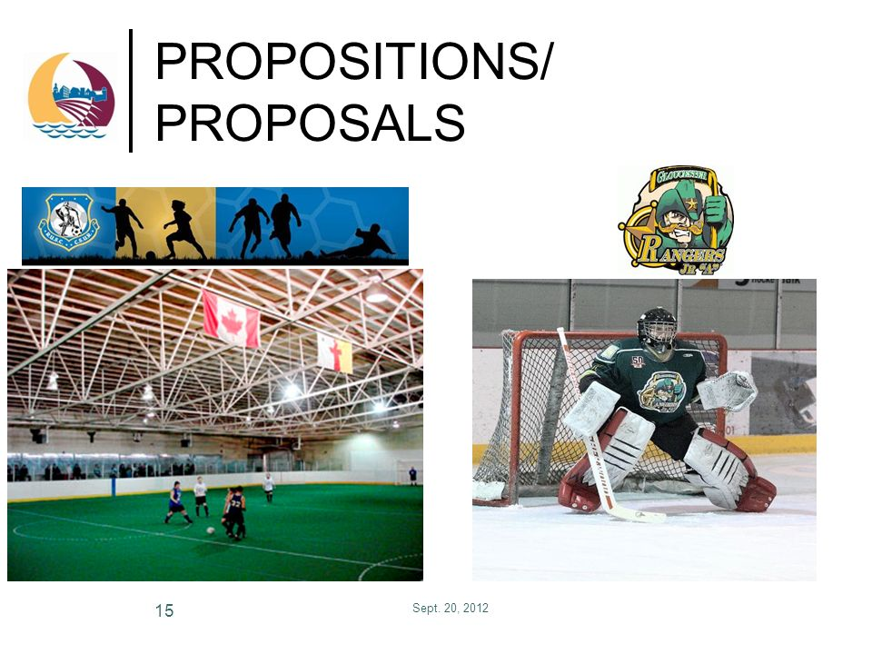 PROPOSITIONS/ PROPOSALS