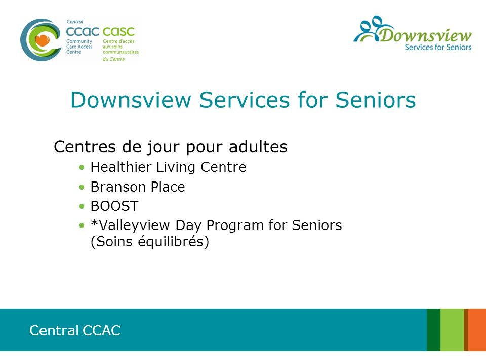 Downsview Services for Seniors