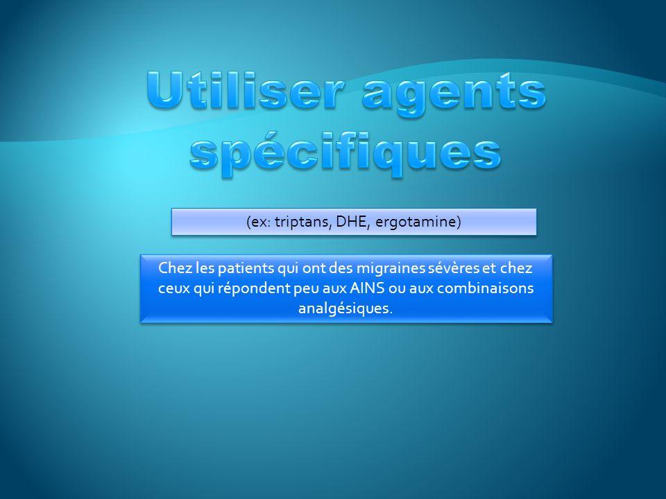 Utiliser agents spécifiques