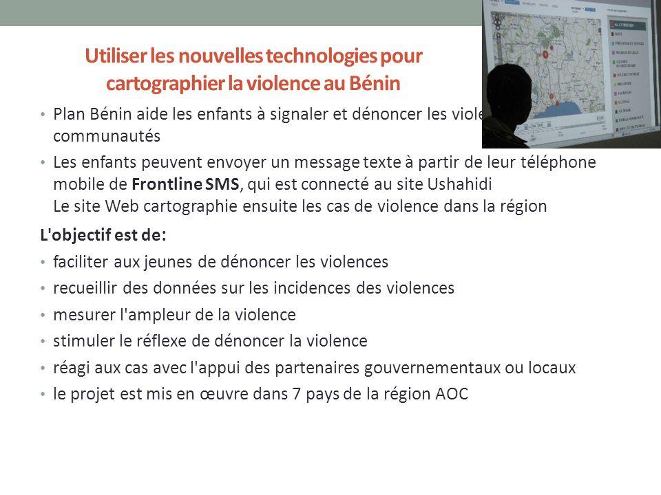 Utiliser les nouvelles technologies pour cartographier la violence au Bénin
