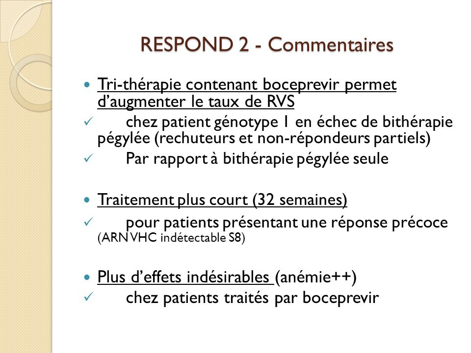RESPOND 2 - Commentaires