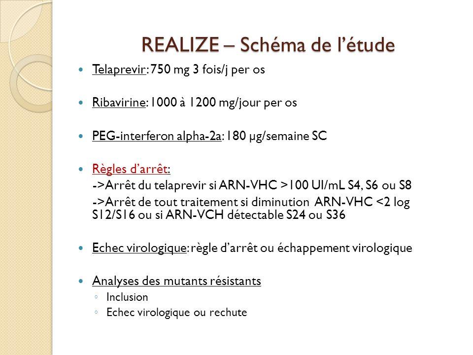 REALIZE – Schéma de l'étude