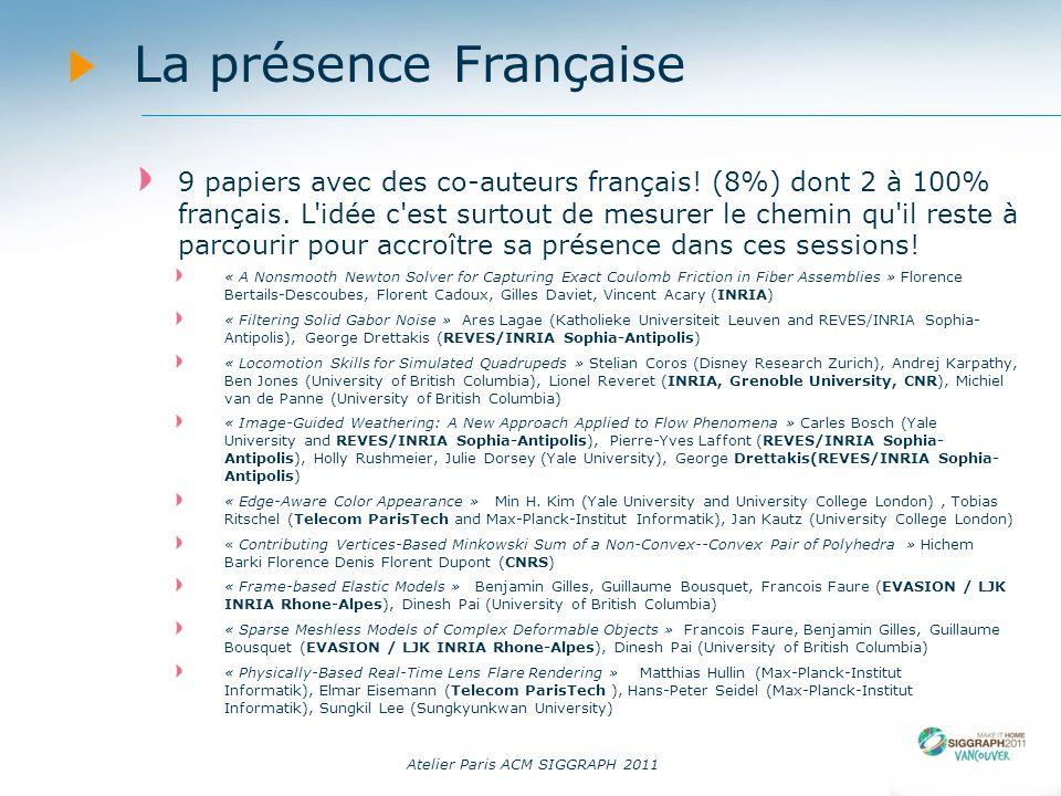14/09/11 La présence Française.