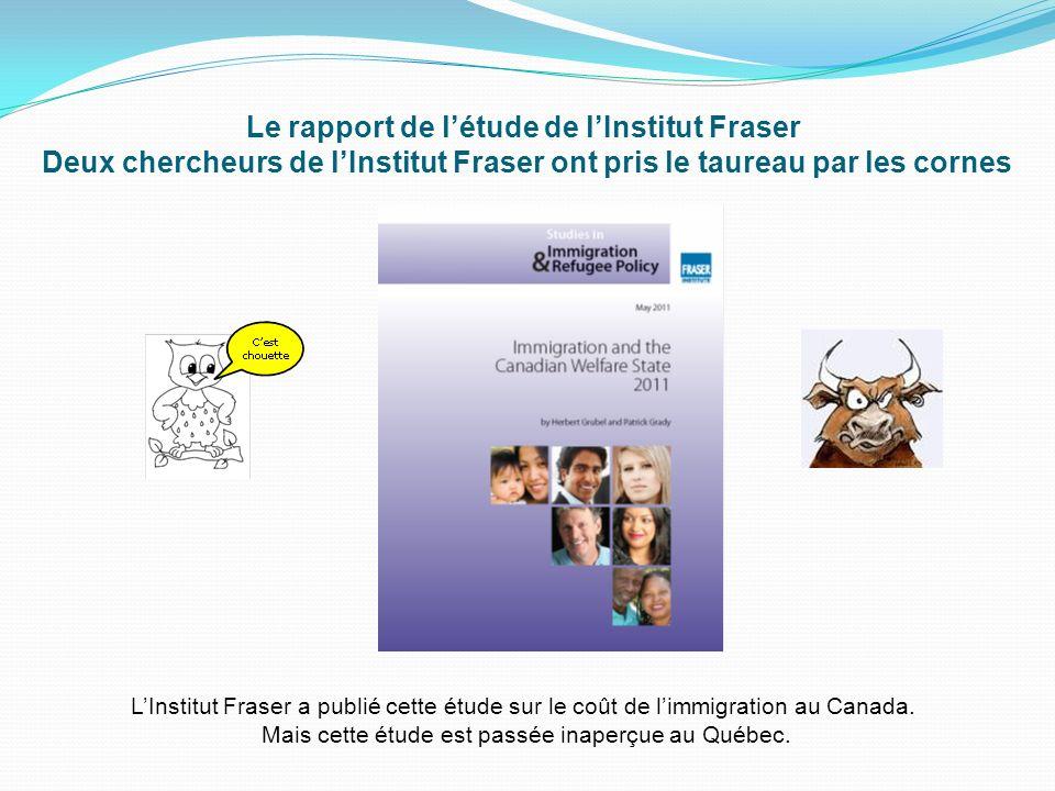 Mais cette étude est passée inaperçue au Québec.