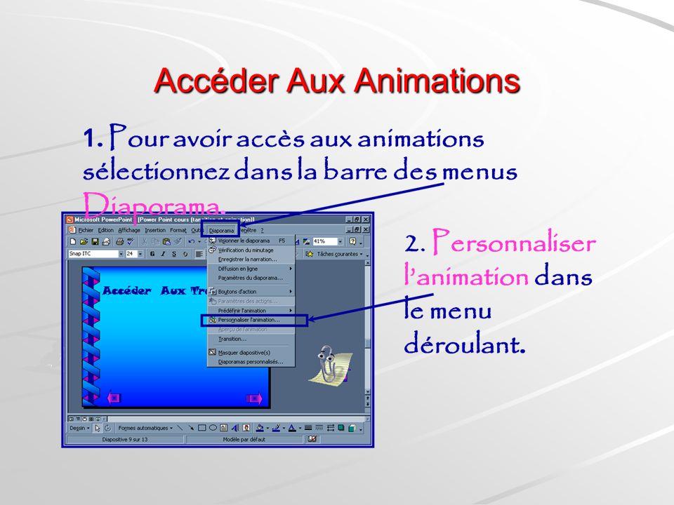 Accéder Aux Animations
