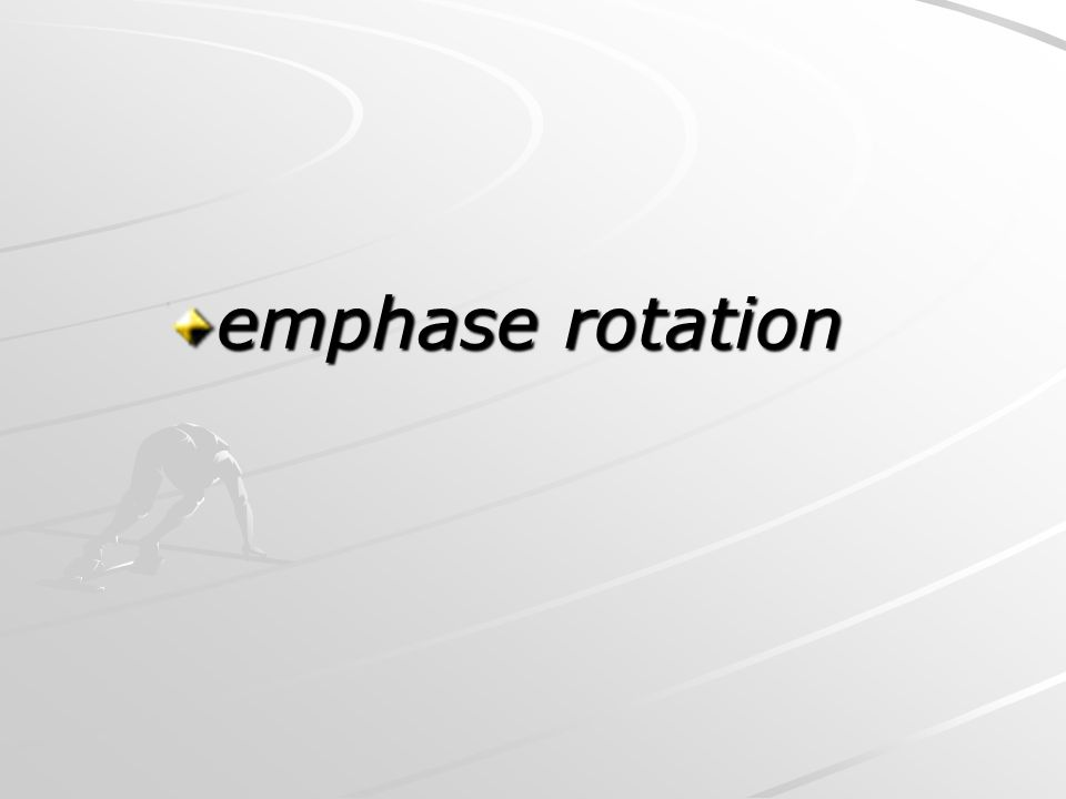 emphase rotation